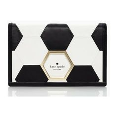 Our favorite World Cup-inspired accessory:  Kate Spade clutch