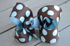 Girl Scout Brownie Bow by YeauxYeauxBows on Etsy, $8.00