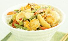 Are you searching for stir-fry recipes with seafood? Find the recipe to make a scallop stir-fry dish with asparagus and sweet plum sauce at Woolworths.