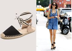 Smart and Trendy #Espadrilles – Make the Best of This Trend -  Tie-up Espadrille #Shoes | #FashionLady