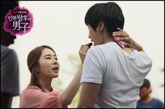 Yoo In Na and Ji Hyun Woo in Queen In Hyun's Man