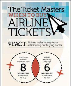 Cosas a tener en cuenta a la hora de reservar un billete de avión #vuelos