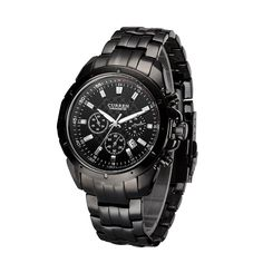 Are you still having no idea what kind of gift you should send to your boyfriend? The fashionable and luxury #WristWatch is your best choice. Imported original quartz movement makes the watch more durable.  http://www.tomtop.cc/miQjaq