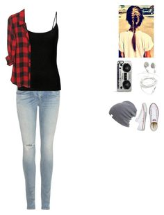 """Tomboy"" by its-me-maddie ❤ liked on Polyvore featuring rag & bone, Converse and Zero Gravity"