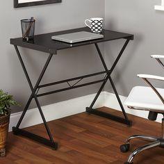 Simple Living Black Ava Glass Desk - Overstock Shopping - Great Deals on Simple Living Desks