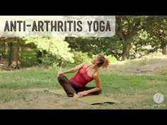 Arthritis Alleviating Yoga Routine: Combo Flex. Short sweet unwinding with the adventurous Antonia, who takes poses in new and refreshing directions. Great visualization for lubricating joints.