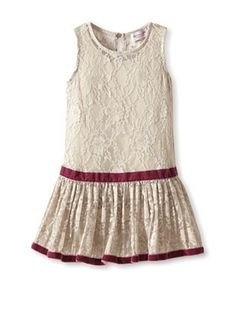 50% OFF Monnalisa Girl's Lace Dress