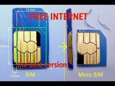 FREE INTERNET on any SIM card WITH ZERO BALANCE - YouTube