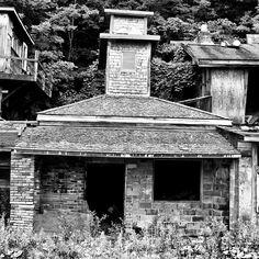 Old buildings.
