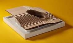 """Architects Directory 2011  """"For this year's Architects Directory, we selected 20 of the world's best emerging architects, giving each an open brief to design the ultimate rural retreat.""""  Model of design from Fourfoursixsix."""