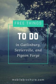 Looking for free things to do while you're visiting the Smoky Mountain Area? We've got you covered with budget-friendly suggestions and hidden gems. Laurel Falls, Best Honeymoon Destinations, Travel Destinations, Sevierville Tennessee, Mountain Vacations, Smoky Mountain National Park, Christmas Travel, Free Things To Do, Pigeon Forge