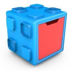 Chillafish Box Art.CPCB01BLR multifunkcionāla rotaļu kaste