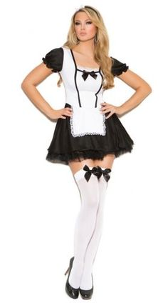 Dust the competition this Halloween with these sexy french maid costumes from Yandy! Browse our huge selection of naughty french maid costumes. French Maid Lingerie, Sexy Lingerie, Lingerie Styles, French Maid Costume, Sexy Halloween Costumes, Adult Halloween, Maid Halloween, Cheap Halloween, Halloween Ideas