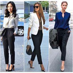 WEBSTA @ mulheresdebomgosto - Calça preta alfaiataria (com modelagem adequada ao seu corpo) é essencial para ter um guarda-roupa versátil e coordenável!#mulheresdebomgosto #mbg #consultoriadeimagem #personalshopper #palestras #areacorporativa #dresscode #cool #lookoftheday #work #lifestyle #outfitoftheday #fashion #trend #ootd #moda #mbgindica #inspiration #streetstyle #chic #classic #week #blackpants