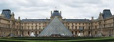 PARIS - The Louvre - one of the world's largest museums, the most visited art museum in the world and a historic monument. Holds the greek sculpture of the Venus de Milo, Da Vinci's Mona Lisa, and other famous artwork.