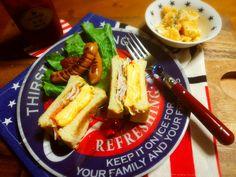 Yumi103's dish photo さくちんちゃんのKFCそっくりコールスローリピ   コールスローサンド   http://snapdish.co #SnapDish #レシピ #ダイエット料理グランプリ2016 #朝ご飯 #サンドイッチ #サラダ #保存食/常備菜