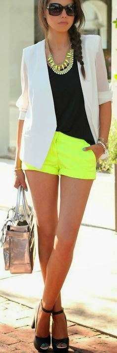 Fashion trends | A pop of neon