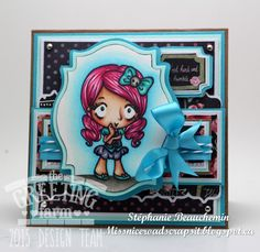 Hey everyone!Farmer Stephanie here with you today, and boy am I happy to show you this card! I've been literally screaming for this stamp!She's named Rose, and was first released as an exclusive st...