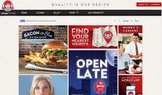 wendys.com monochrome