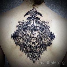 Surreal Black Ink Tattoos By Ilya Brezinski Black Ink Tattoos - Surreal black ink tattoos by ilya brezinski