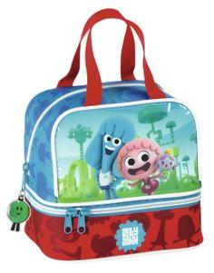 Jelly Jam - Portameriendas. Artículo licenciado y original de la serie de televisión infantil Jelly Jam.Dimensiones: 20 cm x 20 cm x 15 cm.