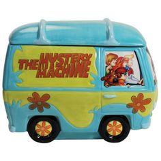 23312 Scooby Doo Mystery Machine Cookie Jar Collectible Kitchen Housewares