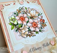 ChristineCreations: Spring Blossoms