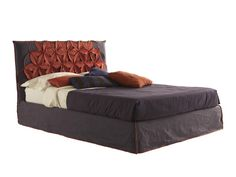 Double bed with upholstered headboard BEAUTIFUL BIG CHIC by Bolzan Letti