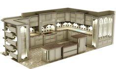 #classic#old#oldstyle#style#luxury#design#kitchen#kuechen#cucine#mütfak#island#render#3D##furniture#homedeco#interior Why or Why not? by luxur_desing