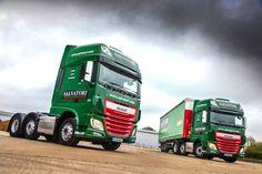 salvatori DAF Trucks XF Super Space Channel Commercials