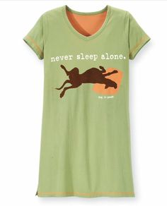 Dog Is Good - Never Sleep Alone - No Bed To Small Dog Lover Pj's - Med or Large #DogIsGood #Sleepshirt  #DogIsGood #NeverSleepAlonePajamas #NoBedToSmall #DogLoverPajamas #DogLovePjs