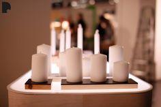 Domino. Pillar candle holders. www.dsgnsguare.com/domino www.facebook.com/designdomino