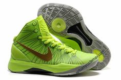 Nike Zoom Hyperdunk 2012 Elite Volt Green Gold 511369 039        #Volt  #Womens #Sneakers