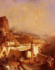 Amalfi Golfe De Salerne - (Franz Richard Unterberger)