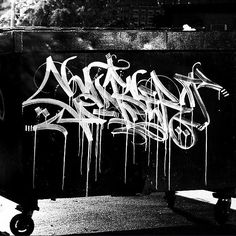 aggressive Canser (@everytagcounts) in the streets! less than 2 weeks to grab one of the Handstyler X Canser t-shirts at www.handstyler.com (link in bio) before the Handstyler store is closed for a long while.  #kanser #handstyle #graffiti //follow @handstyler on Instagram