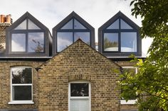 This family carved two bright homes — one to live in, one to let — from a tired south London house Old Victorian Homes, Victorian Buildings, Victorian Terrace, Victorian House, Contemporary Windows, Contemporary Apartment, Loft Conversion Floor, Loft Conversions, Attic Master Bedroom