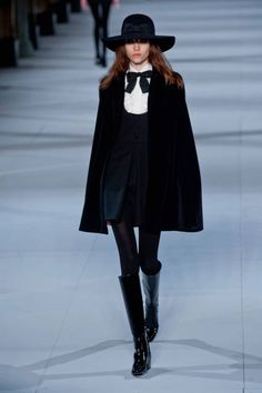 cd3b776567 Saint Laurent Fall 2014 Ready-to-Wear Collection
