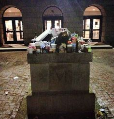 You were so desperate during finals that rubbing Testudo's nose wasn't enough, you would offer up your Starbucks, granola bar and whatever else you had left over from your library binge.
