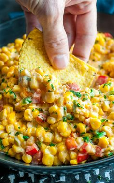 Spicy Southern Hot Corn: This sassy Southern-style recipe has been part of our holiday meal tradition for years and doubles as a side dish AND a dip!