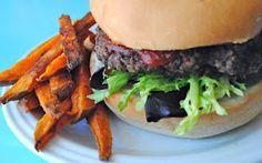 Veggie Kids: Great Grain Burgers with Yam Fries