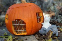 U nás na kopečku: Tvoření Pumpkin Carving, Fall Decor, Autumn, Halloween, Fairy, Decoration, Home Decor, Decor, Decoration Home