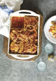 """Oprah's Turkey Lasagna    """"I thought my lasagna-eating days were done, but when I tried this dish for the first time, it was amazeballs! The key is to either buy a really high-quality lean ground turkey product or get a boneless, skinless turkey breast and grind it yourself with a few pulses in the food processor."""" — Oprah"""