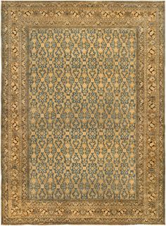 Persian rugs: Persian rug (antique) rug in brown color, oriental rug, oriental pattern for modern, elegant interior decor, rug in living room #rug #persianrug