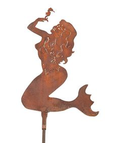 Z Garden Party Mermaid Steel Sculpture Mermaid Lagoon, Mermaid Art, Rustic Sculptures, Sand House, Garden Whimsy, Steel Sculpture, Garden Stakes, Merfolk, Yard Art