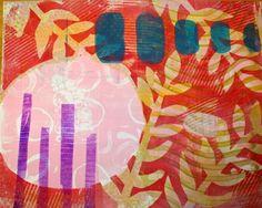 Too Wild Quilters: Successful Gelli MonoPrint