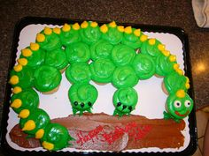 This is a cute idea...and easy!!! Image detail for -Gavins Party :: Yummy Dinosaur cake! picture by lalawish - Photobucket