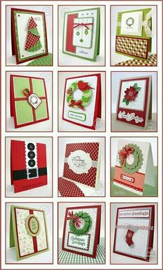 Find out about Handmade Christmas Card Ideas Homemade Christmas Cards, Christmas Cards To Make, Christmas Paper, Christmas Greetings, Homemade Cards, Handmade Christmas, Holiday Cards, Simple Christmas, Merry Christmas
