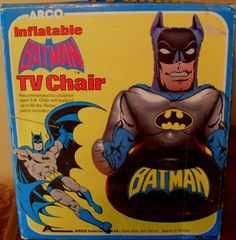 1982 Inflatable Batman TV Chair by Arco