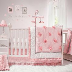 """Peanut Shell Arianna 5 Piece Cot Set 