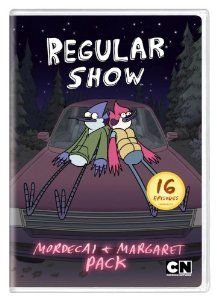 I have never seen Cartoon Network's popular Regular Show before so this Mordecai & Margaret Pack was my first exposure.